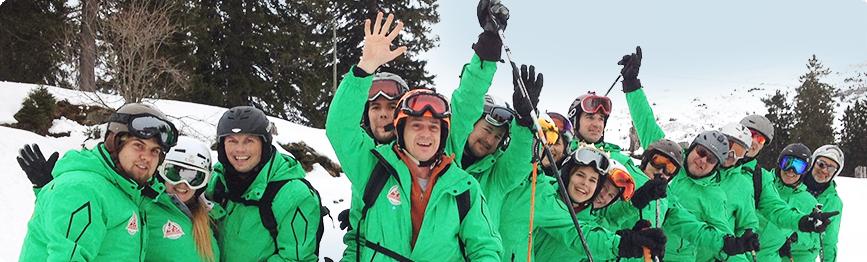 Skilehrer - Front